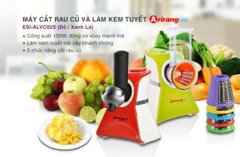 Máy cắt rau củ và làm kem ArirangLife ESI-ALVC02S (Đỏ)