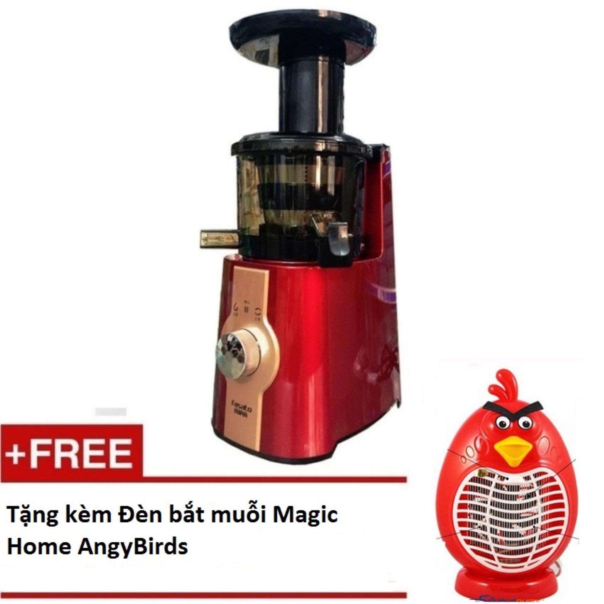Máy ép tốc độ chậm trục vít cao cấp Fasato tặng kèm Đèn bắt muỗi Magic Home AngyBirds
