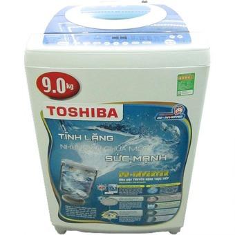 Máy giặt lồng đứng Toshiba inverter DC1000CVWB 9Kg màu xanh