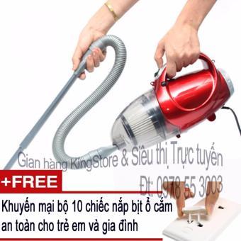 Máy hút và thổi bụi 2 chiều cầm tay Vacuum Cleaner JK-8 + Tặng kèm10 nắp bịt ổ cắm điện an toàn cho trẻ em và gia đình (Siêu thị VN)