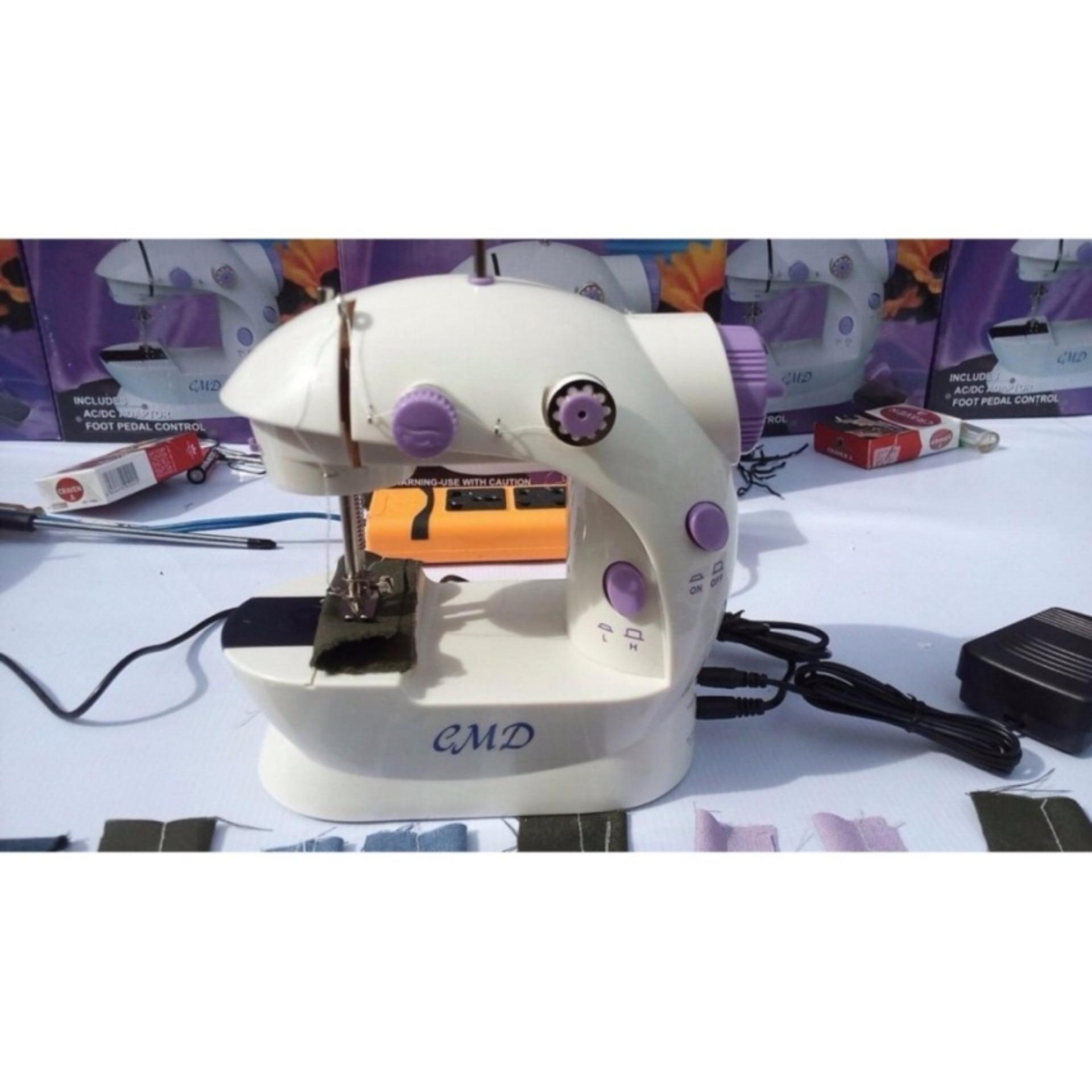 Máy khâu mini CMD có đèn led và cắt chỉ