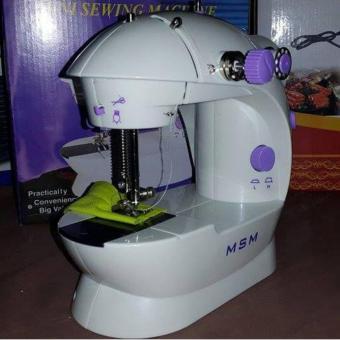 Máy khâu MSM mini có đèn led và cắt chỉ A826