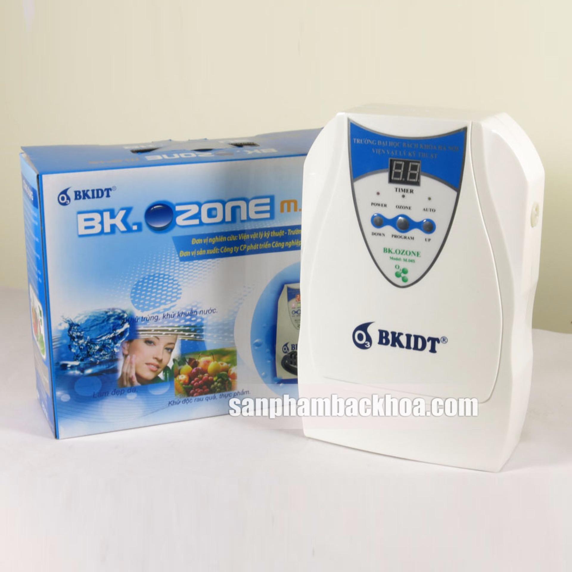 Máy khử độc, làm sạch thực phẩm BK.Ozone M04S (Trắng) +Nhiệt kế điện tử Features K-018