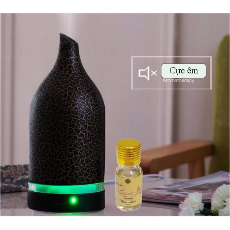 Bảng giá Máy khuếch tán tinh dầu tạo ẩm tặng 10ml tinh dầu oải hương Ngọc Tuyết