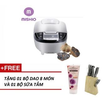 Máy làm tỏi đen nhiệt 4D ceramic Mishio + Tặng bộ dao 8 món và bộ sữa tắm
