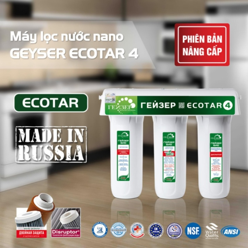 Máy lọc nước nano Geyser Ecotar 4 - 2017