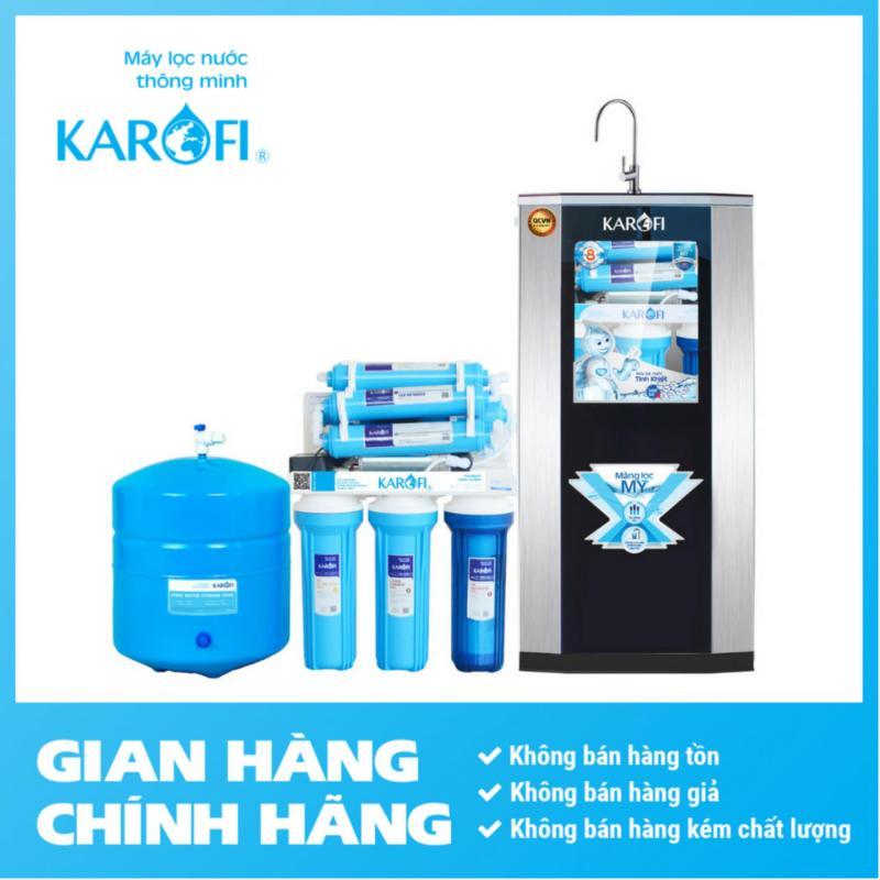 Máy lọc nước RO Karofi, 8 cấp, tủ IQ