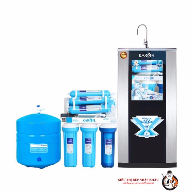 Máy lọc nước RO Karofi, 8 cấp, tủ IQKT80IQ