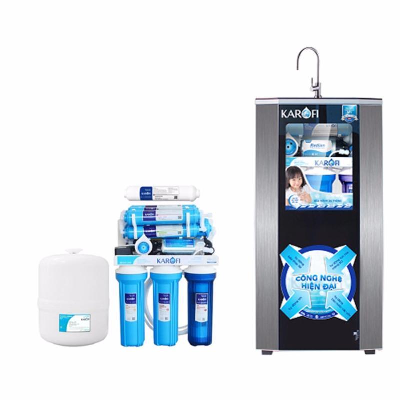 Máy lọc nước tiêu chuẩn sRO Karofi, 8 cấp, tủ IQ KSI80