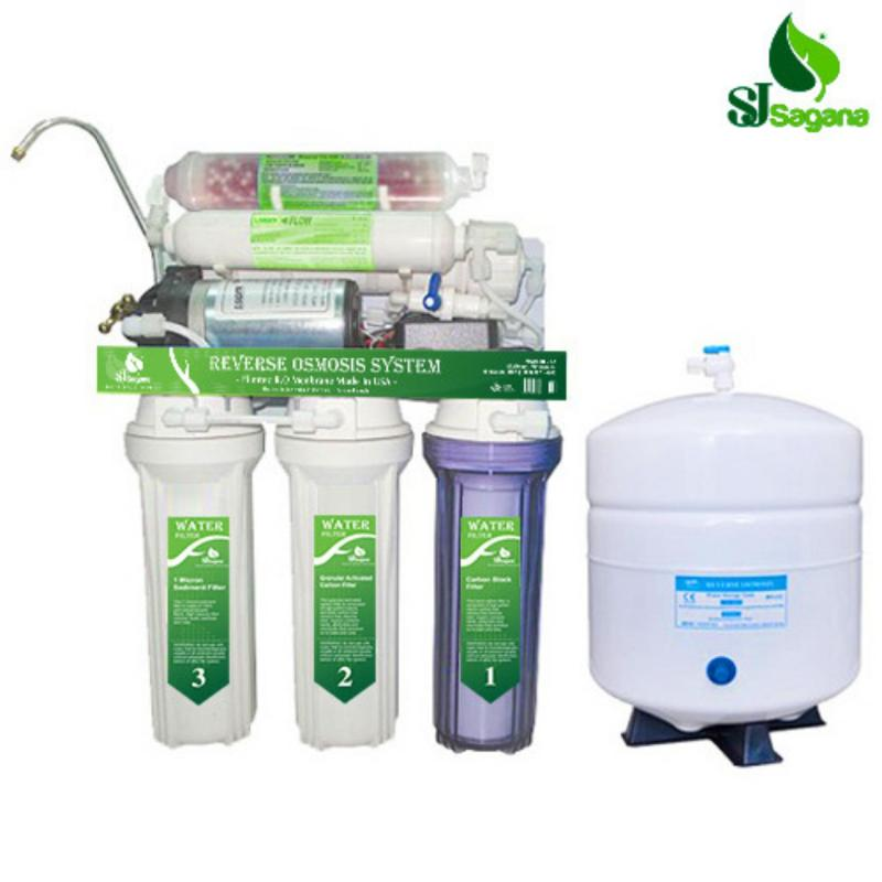 Máy lọc nước tinh khiết RO 6 cấp SJsagana (Trắng)