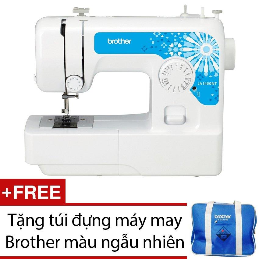 Máy may Brother JA1450NT + Tặng túi đựng máy may Brother màu ngẫunhiên