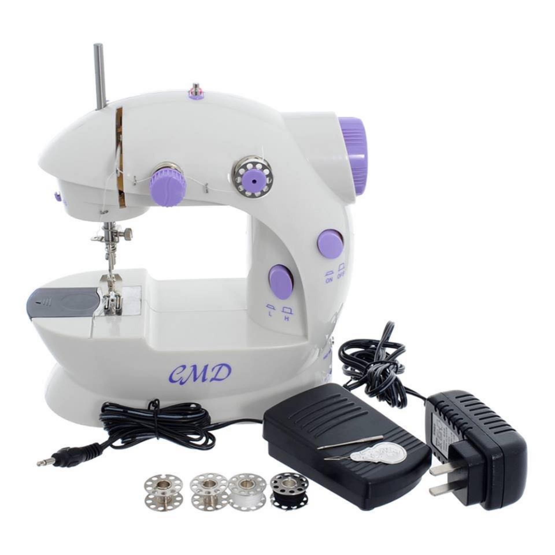 Máy may mini tại nhà Sewing Machine SM