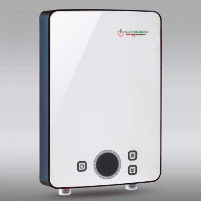 Bảng giá Máy nước nóng hồng ngoại SuperGreen: IR-260 (Trắng) - Hãng phân phối chính thức + Tặng sen tăng áp cao cấp