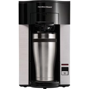 Máy pha cà phê Hamilton Beach 49993-IN (Đen) - Hàng nhập khẩu