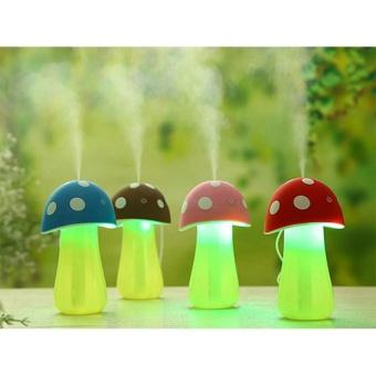 Máy phun sương tạo độ ẩm mini hình cây nấm (Nguồn USB, có đèn)