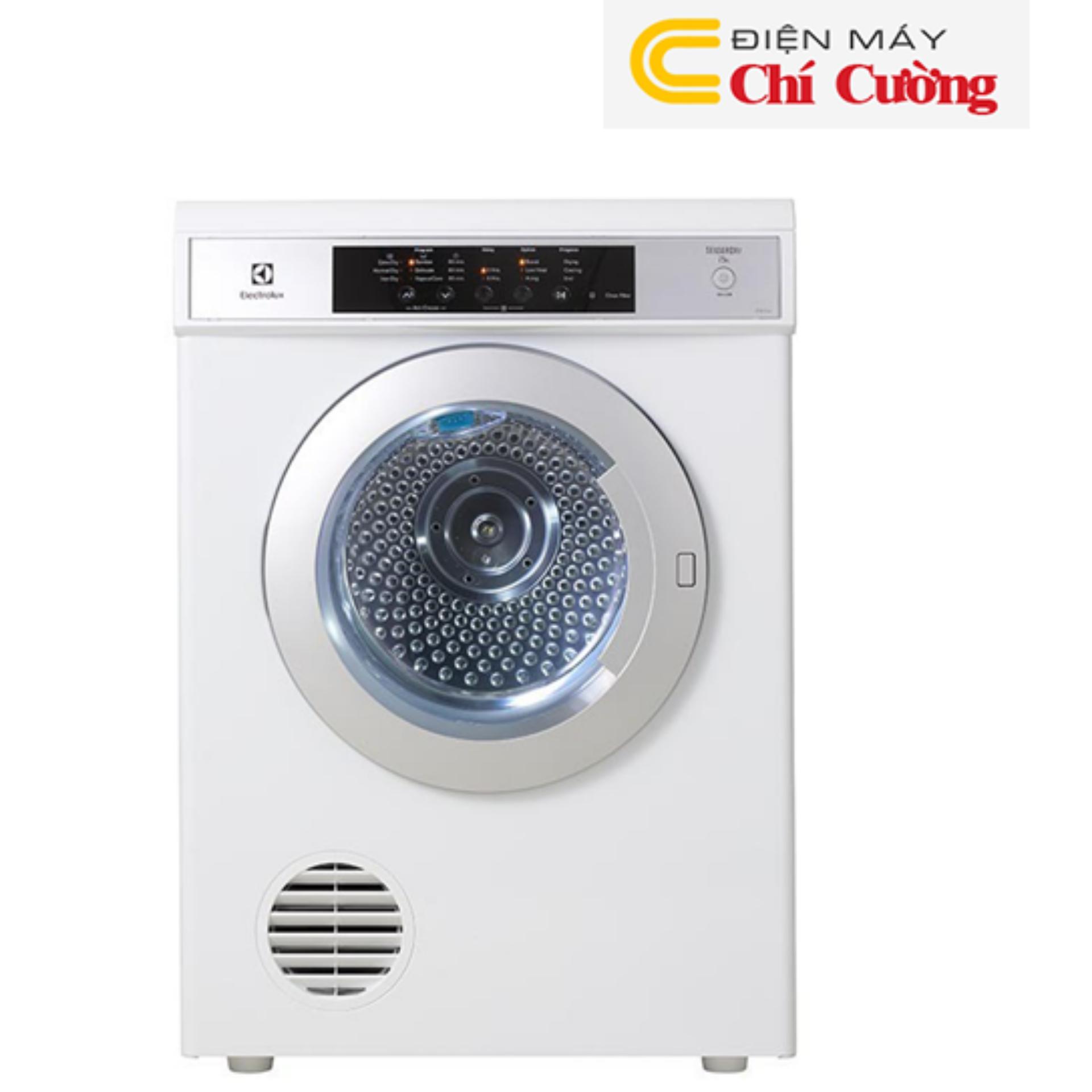 Máy sấy quần áo Electrolux EDS7552-7.5kg(Trắng)