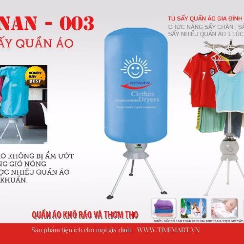 Máy sấy quần áo Nonan 003 (Xanh dương nhạt)