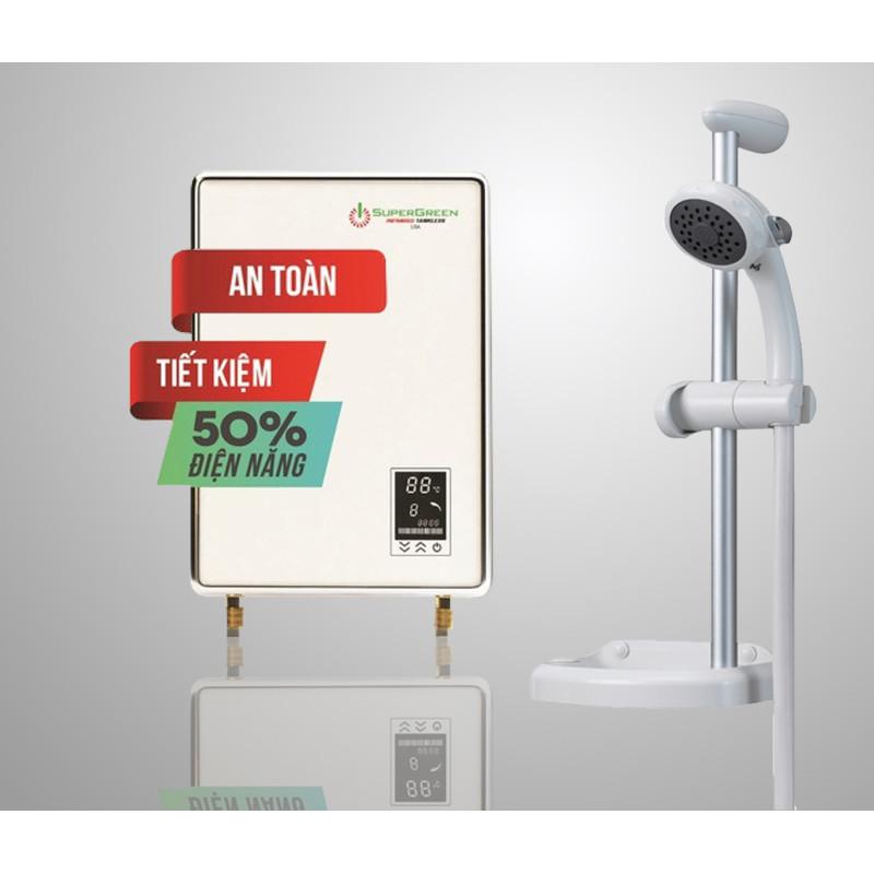 Bảng giá Máy tắm nước nóng hồng ngoại SuperGreen IR-234POU