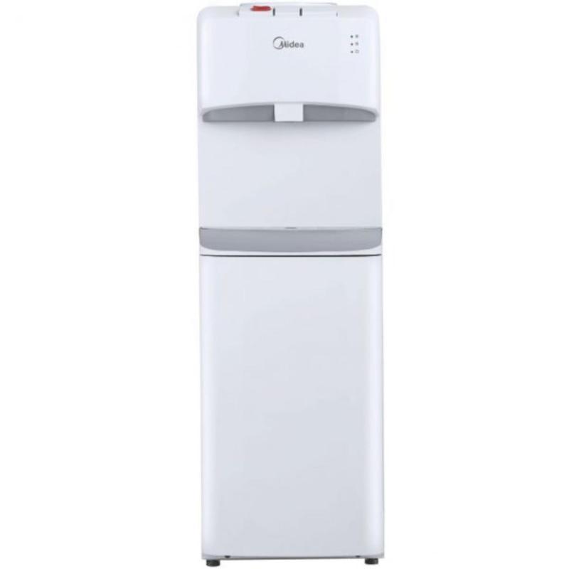 Máy uống nước nóng lạnh Midea YL1632S ( Trắng) + Bộ 4 chén sứ Midea cao cấp