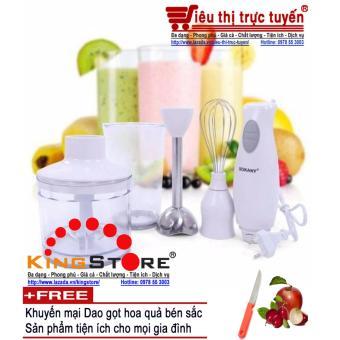 Máy xay cầm tay đa năng Sokany HB230A -Tặng kèm dao gọt hoa quảtiện dụng cho mọi gia đình - Đại siêu thị Việt Nam