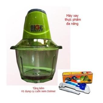 Máy xay thực phẩm đa năng cối thủy tinh MAGIC (xanh) + tặng kèm 01 dụng cụ cuốn chả giò DOLMER - 8310598 , NO007HAAA6RK5XVNAMZ-12432434 , 224_NO007HAAA6RK5XVNAMZ-12432434 , 399000 , May-xay-thuc-pham-da-nang-coi-thuy-tinh-MAGIC-xanh-tang-kem-01-dung-cu-cuon-cha-gio-DOLMER-224_NO007HAAA6RK5XVNAMZ-12432434 , lazada.vn , Máy xay thực phẩm đa năng c