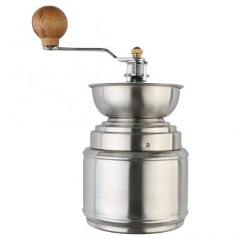 New Stainless steel Manual handy coffee bean pepper seeds grinderMill (Silver)(Intl)