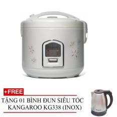 Nồi cơm điện 1.8l Kangaroo KG377 + Tặng bình đun siêu tốc