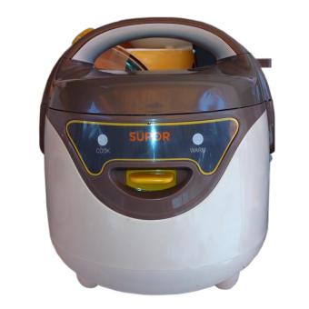 Nồi cơm điện Supor CFXB16YB3VN-36 0.8L (Trắng phối nâu)