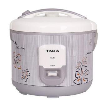 Nồi cơm điện Taka TKE668 (Xám)