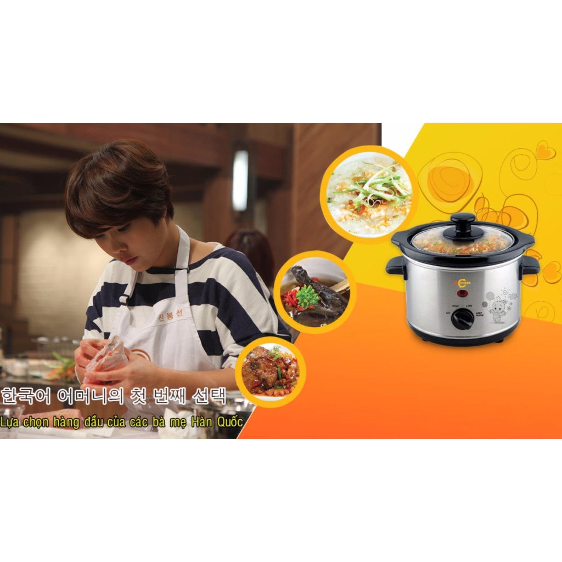 Nồi nấu cháo đa năng BB-Cooker 1,5L