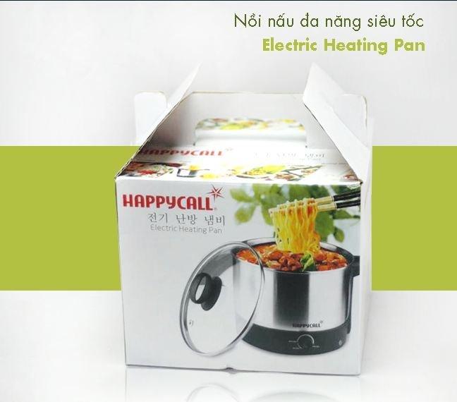 Nồi nấu lẩu siêu tốc mini Inox Happy Call 1.5L