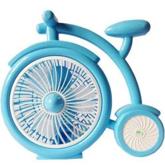 Quạt để bàn mini hình xe đạp Model Ichibai