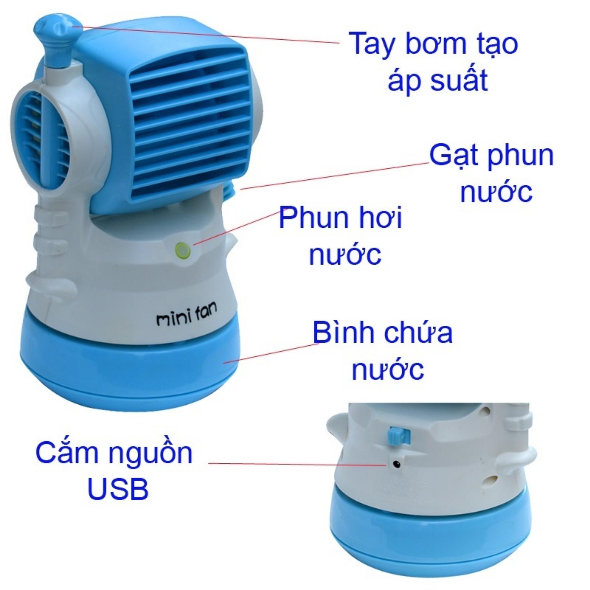 Quạt phun sương hơi nước mini Fan Model Kingdom