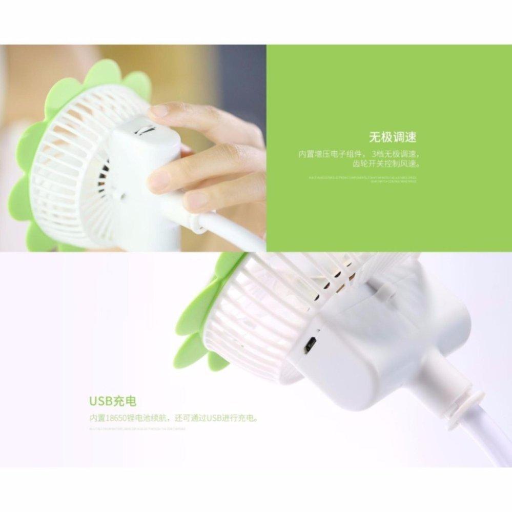 Quạt sạc tích điện mini cầm tay hoặc kẹp bàn đa năng Remax F12