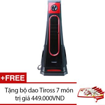 Quạt tháp Tiross TS9180 (Đen đỏ) + Tặng bộ dao 7 món Tiross TS1281 - 8783089 , TI360HAAA18NMGVNAMZ-1863749 , 224_TI360HAAA18NMGVNAMZ-1863749 , 2290000 , Quat-thap-Tiross-TS9180-Den-do-Tang-bo-dao-7-mon-Tiross-TS1281-224_TI360HAAA18NMGVNAMZ-1863749 , lazada.vn , Quạt tháp Tiross TS9180 (Đen đỏ) + Tặng bộ dao 7 món Tiro