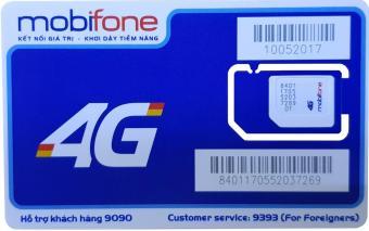 SIM 4G/3G MOBIFONE 61,3 GB/THÁNG + 1.500 phút + 1.500 tin nhắn