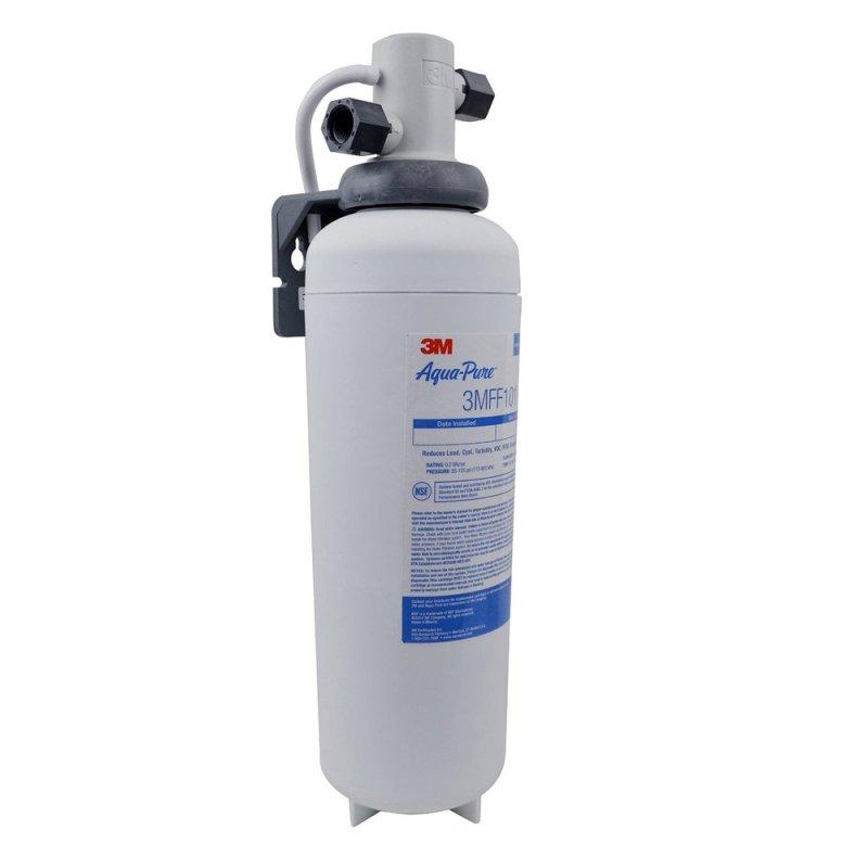 Thiết bị lọc nước 1 bước siêu tiết kiệm 3M Cuno Aqua-Pure 3MFF100 (Trắng)