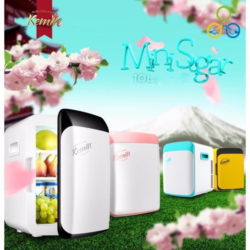 Tủ lạnh mini 10L 2 chiều tiện dụng - tủ lạnh mini cỡ vừa dùng cho hộ gia đình, trong xe hơi