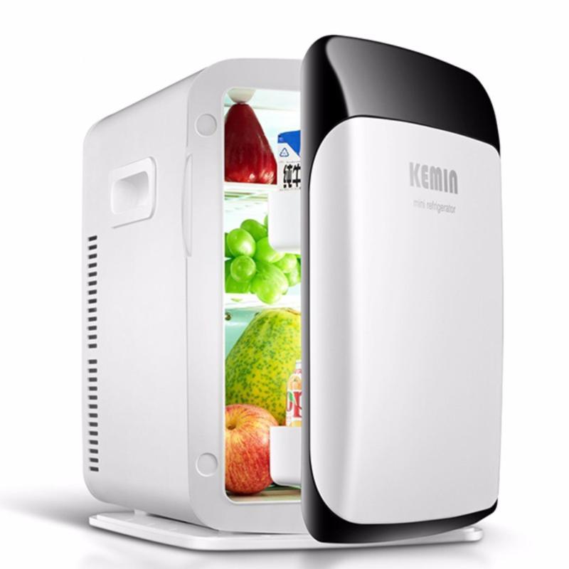 Tủ lạnh mini 2 chiều giá rẻ - tủ lạnh sử dụng trong ô tô, hộ gia đình nhỏ 10L Cloud Store