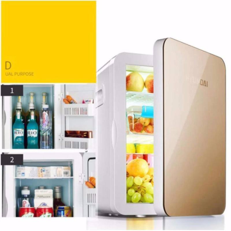 Tủ lạnh mini 20L 12V/220V sử dụng cho Ôto và gia đình