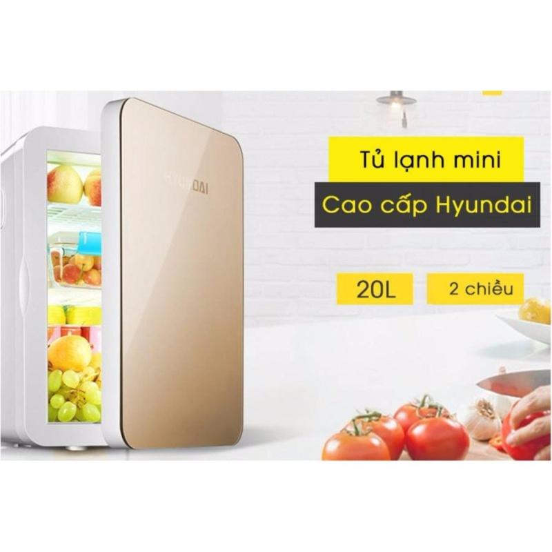 Tủ lạnh mini cho gia đình và xe hơi Hyundai 20L cao cấp