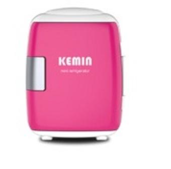Tủ lạnh mini hộ gia đình và xe hơi Kemin (Hồng)