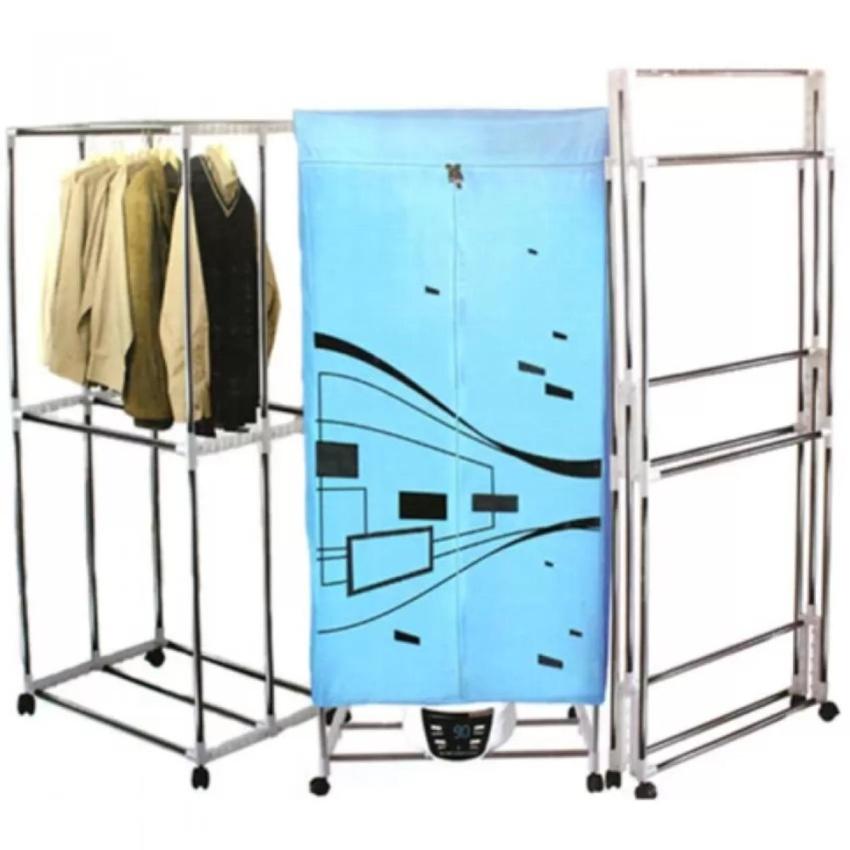 Tủ sấy khô quần áo công nghệ nhật bản Holtashi khung INOX có tia UV