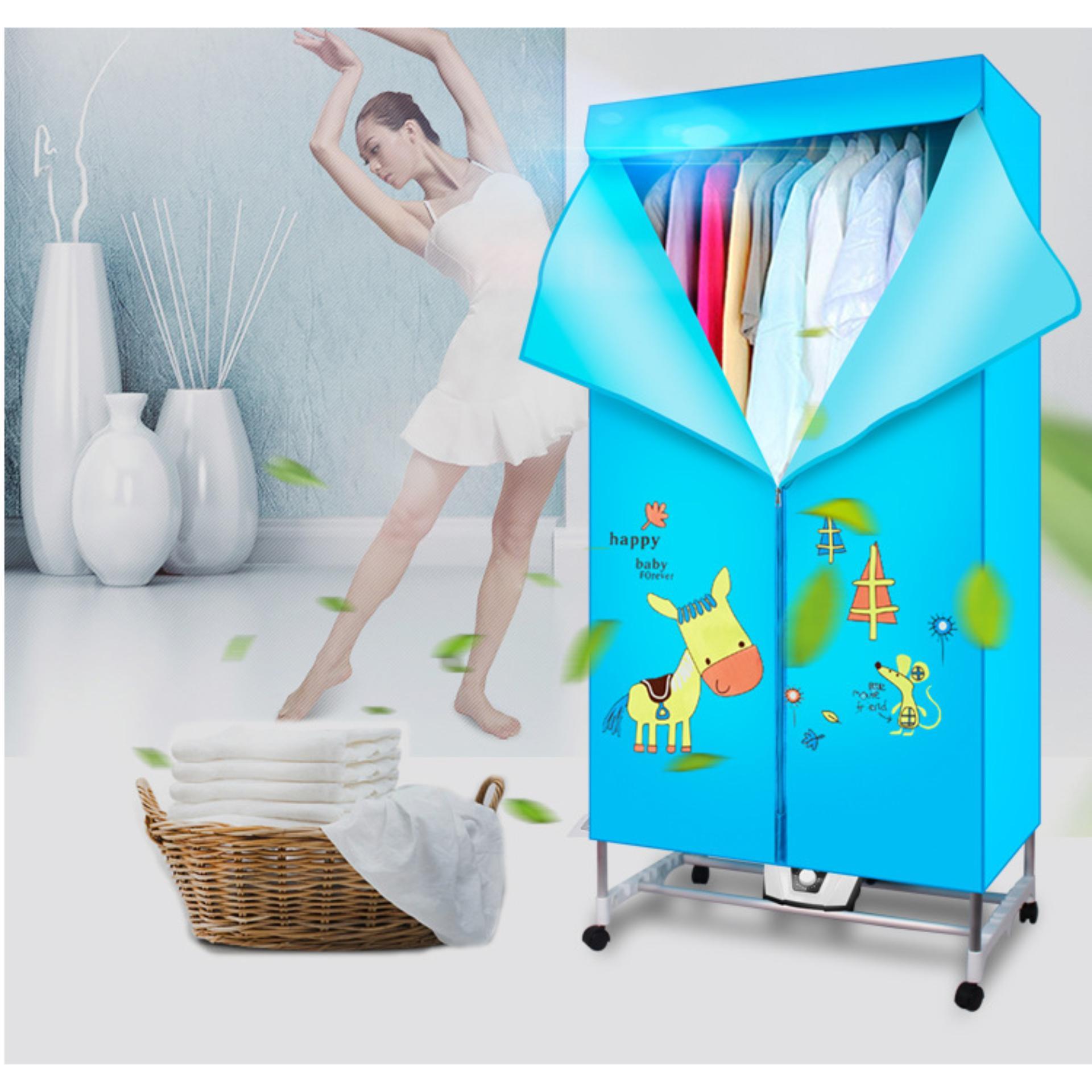 Tủ sấy quần áo Clothes Dryer sấy khô 360 độ thông minh