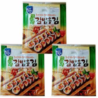 3 Rong Biển(1goi X 10 miếng) Sấy Khô nhập khẩu từ Hàn Quốc , làm được nhiều món ăn ngon