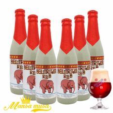 Nơi Bán 6 chai Bia Delirium Red | Bia Bỉ