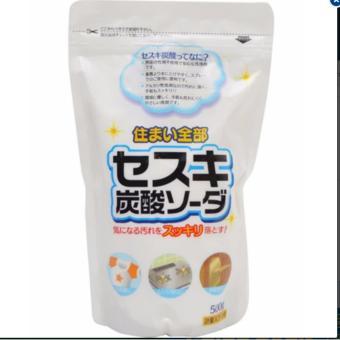 Baking soda Sesuki dạng bột 500g (tẩy trắng) Rocket hàng nhập khẩuNhật Bản