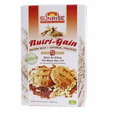 Bánh ăn kiêng Yến Mạch Gạo lức – 178g