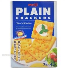Báo Giá Bánh Meiji PLAIN CRACKERS 104g – dành cho người ăn kiêng