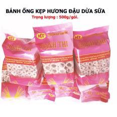 Bánh ống Dừa Sữa Hạnh Thi đặc biệt - Đặc sản trà vinh (500g)